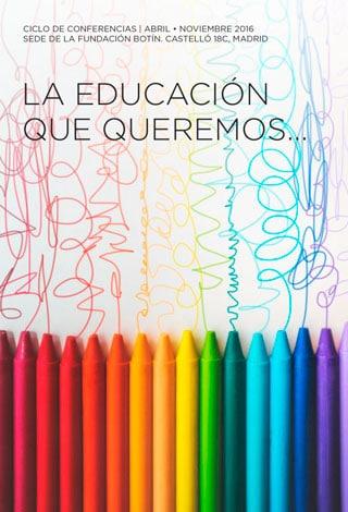 La educación que queremos 2016