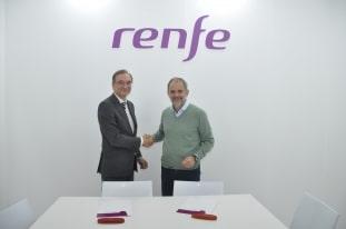 Renfe y Fundación Botín firman un acuerdo para atraer turismo al Centro Botín por medio del ferrocarril